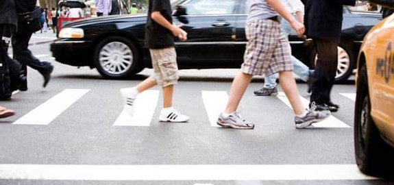 Most Dangerous States for Pedestrians